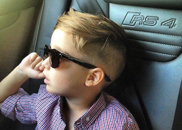 3歳の男の子に人気のあるオシャレな髪型は次の5つです。