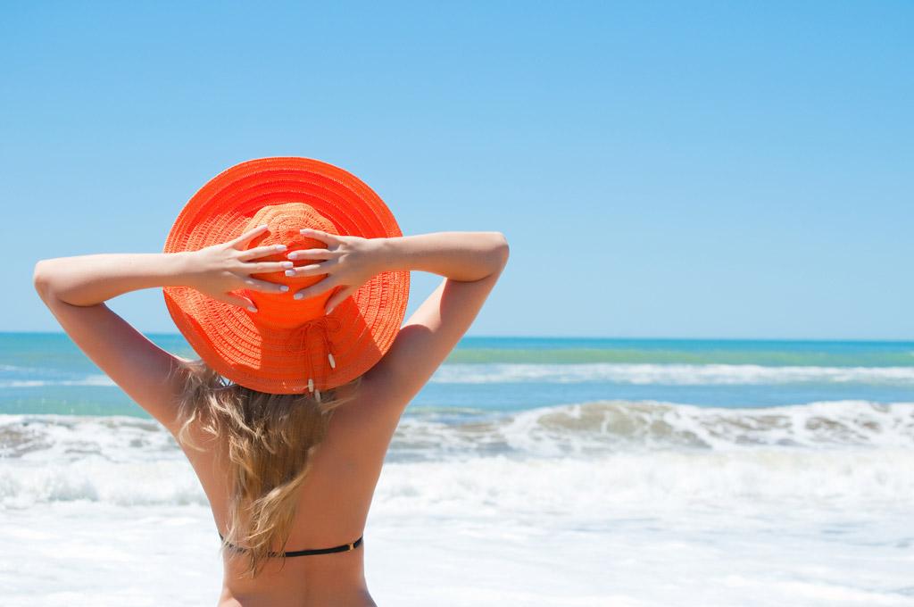 海 髪型 湿気対策